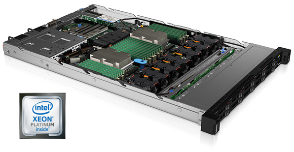 Lenovo ThinkSystem SR630 Internal Chassis View with Processor