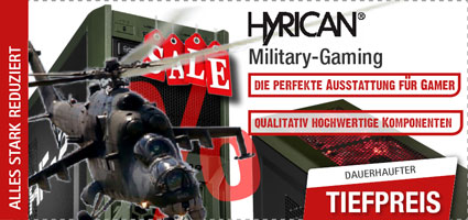 Hyrican Military Gaming - Lasst die Spiele beginnen! Intel i7 7. Generation