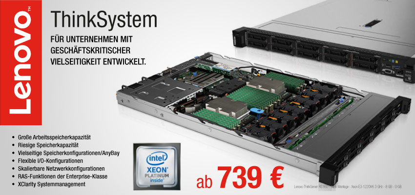 Lenovo Server Thinksystem