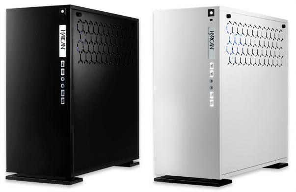 Bemerkenswertes Kühlkonzept - Hyrican Elegance