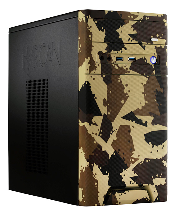 Gaming PC von Hyrican CyberGaming Desert