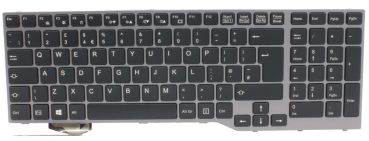 Keyboard black LIFEBOOK E753 E754 E756 UK BL